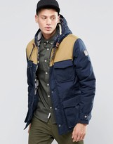 Element Hemlock 2 Tone Parka Navy