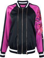 Alexandre Vauthier embroidered sleeve bomber jacket - women - Spandex/Elastane/Viscose - 36