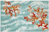 Liora Manné Trans Ocean Imports Visions IV Coral Wave Doormat - 20'' x 29 1/2''