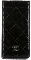 Chanel Quilted Patent iPhone Case