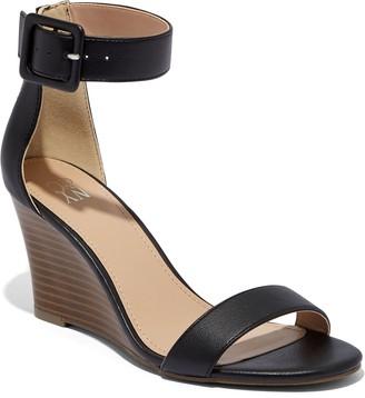 New York & Co. Ankle-Strap Wedge Sandal