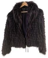 Laurèl Black Fox Jacket for Women