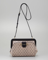 Jason Wu Daphne Lace-Print Crossbody Bag