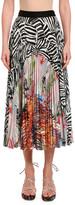 Missoni Patchwork Plisse Midi Skirt