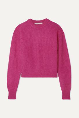 Veronica Beard Melinda Knitted Sweater - Fuchsia