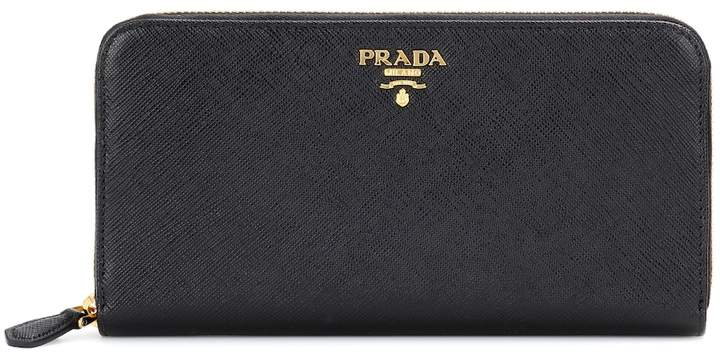 1a7d3f5c Saffiano leather zip-around wallet