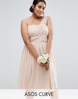 Asos WEDDING One Shoulder Dress