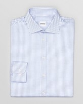 Armani Collezioni Box Check Dress Shirt - Regular Fit