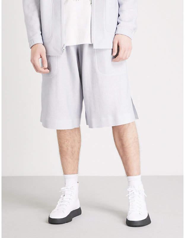Y-3 Y3 Reversible woven shorts