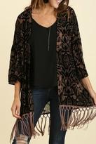 Umgee USA Velvet Kimono