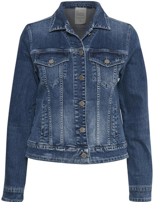Hunter Denim My Essential jeans jacket - 34 (UK 8) | cotton | denim - Denim