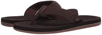 Quiksilver Coastal Oasis III (Brown/Brown/Brown) Men's Sandals