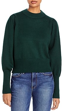 French Connection Balloon Sleeve Sweater