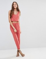 Honey Punch Boyfriend Joggers Co-Ord