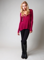 Saint Grace Cerise Beatrice Top