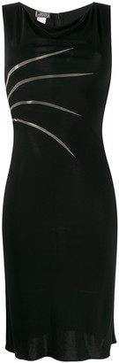 Versace Pre-Owned 1990s slit detail dress
