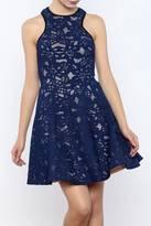 Mystic Blue Party Dress