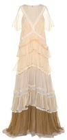 Chloé Lace-trimmed Silk Dress