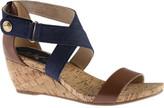 Anne Klein Women's Crisscross Wedge Sandal