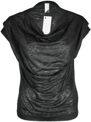 Format TJEK Black Linen Jersey Shirt - S - Black