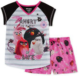 Asstd National Brand Angry Birds 2-pc. Sleep Tank and Shorts Set - Girls