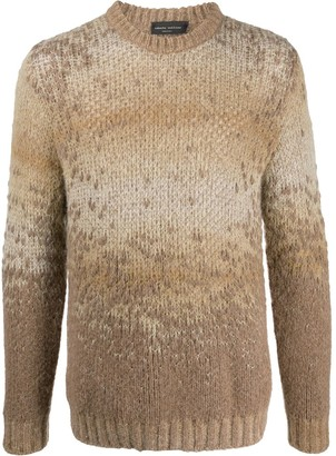 Roberto Collina Crew Neck Knitted Jumper