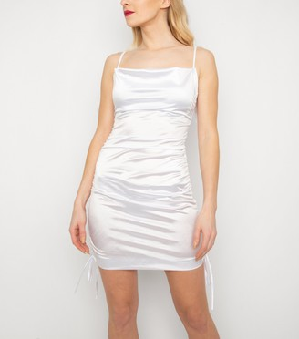 New Look New Age Rebel Satin Ruched Dress