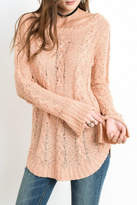 Wishlist Cable Knit Top