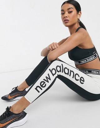 New Balance Running Relentless high rise leggings in black