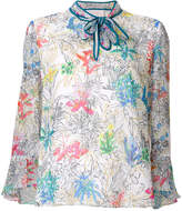 Peter Pilotto floral printed blouse