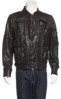 Neil Barrett Leather Flight Jacket