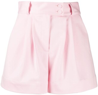 Styland Pleated Waist Shorts