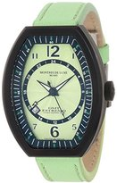 Montres de Luxe Women's EX L 9204 Estremo Quartz Green Dial Watch