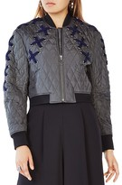 BCBGMAXAZRIA Colin Quilted Bomber Jacket