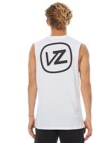 Von Zipper Vonzipper Blur Mens Muscle White