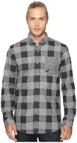 Staple Check Fishtail Flannel Shirt