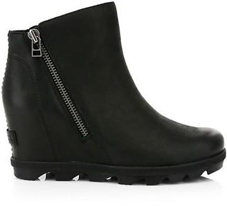 Sorel Joan Wedge Zip Waterproof Boots