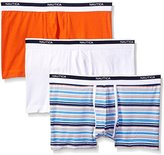 Nautica Men's Cotton Stretch Trunk (Pack of 3)