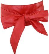 Nanxson(TM) Women's Soft Pu Faux Leather Obi Waist Band Belt PDW0009