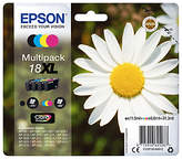Epson Daisy T1816 XL Inkjet Printer Cartridge Multipack, Pack of 4