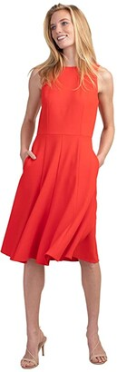 Trina Turk Bacall Dress (Persimmon) Women's Clothing