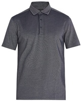 Ermenegildo Zegna Piped-trim cotton-piqué polo shirt