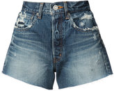 Moussy Woodside denim shorts - women - Cotton - 24