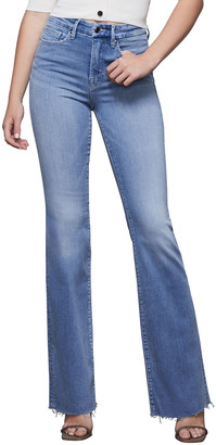Good American Good Flare High-Rise Jeans - Inclusive Sizing