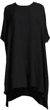 St. John Women's Georgette Drape Dress