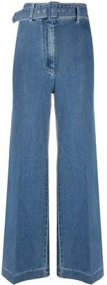 Emilia Wickstead Jada wide-leg jeans