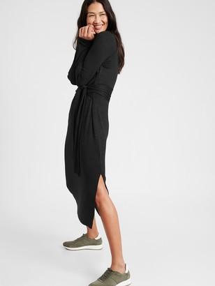 Banana Republic Luxespun Tie-Waist Dress