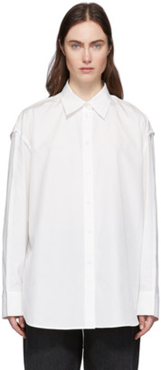 Acne Studios White Inverted Seams Shirt