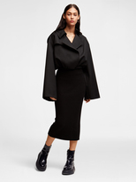 DKNY Dress With Blazer and Ribbed Skirt