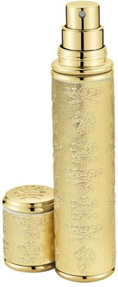 Creed Gold with Gold Trim Leather Pocket Atomizer